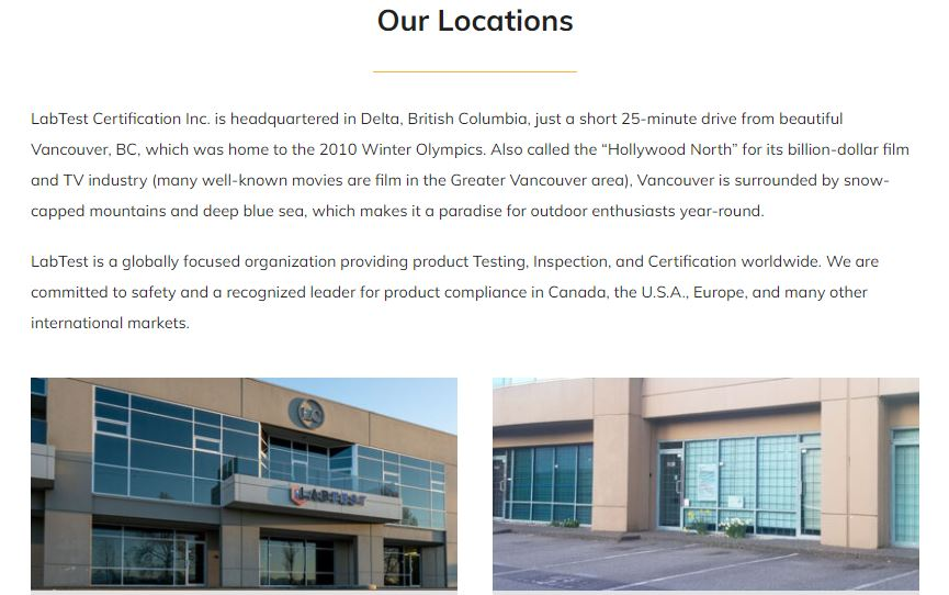 LabTest New Locations