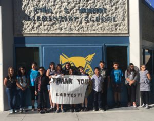 Children thank LabTest Certification