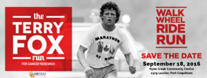 Certification de LabTest prend en charge la 2016 Terry Fox Run
