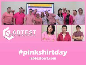 Pink Shirt Day LabTest