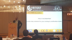 LabTest en CETA Pan Pacific
