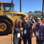 Schnabel Parker (Fiebre del oro) con personal de LabTest 2016 MINExpo