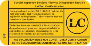 Inspecciones especiales Gas