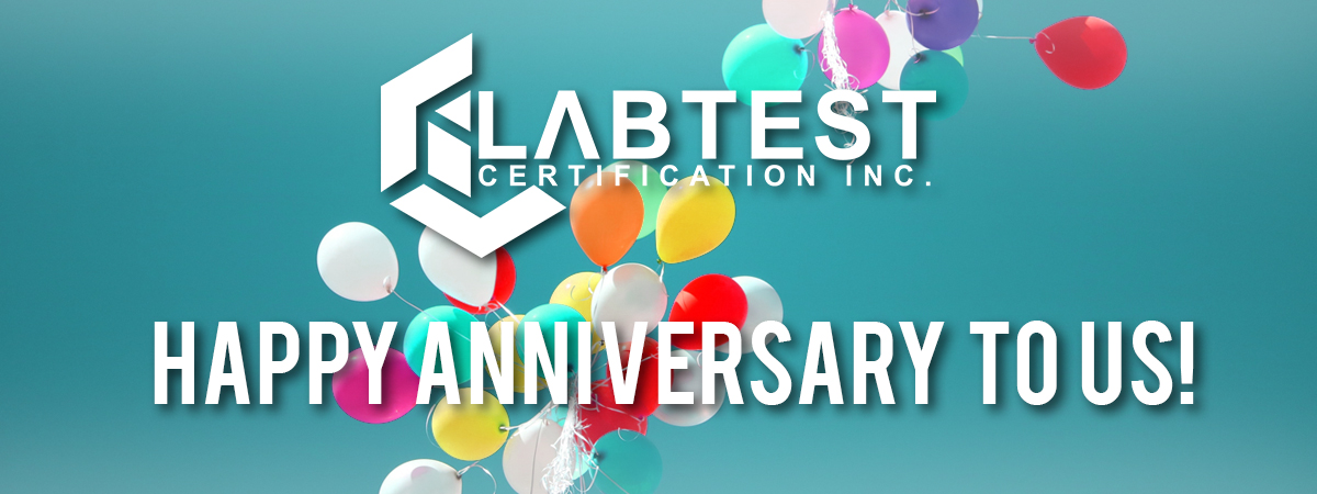 LabTest is celebrating another anniversary!