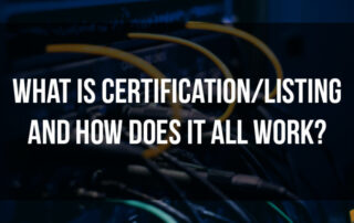 Certification/Listing