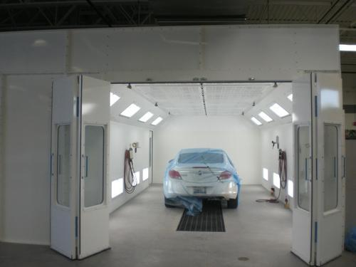 spray booths industry