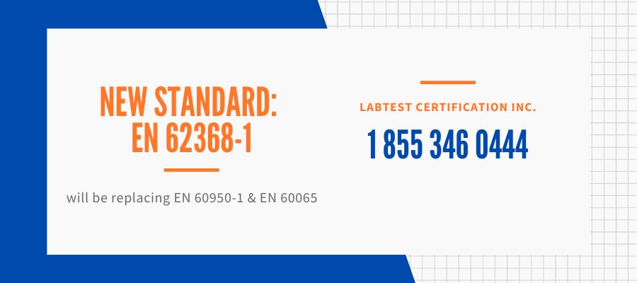 New Standard EN 62368-1