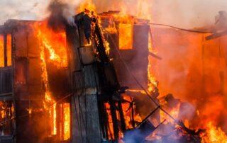 burning characteristics of Building Materials