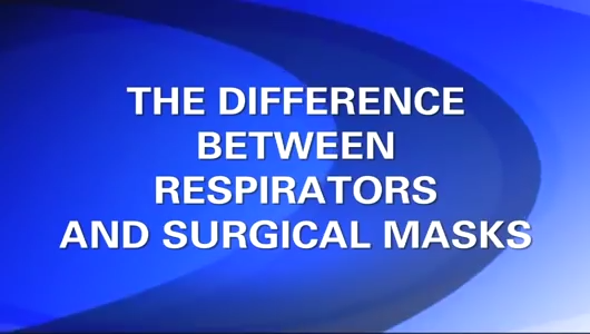 Difference between respirators and surgical masks