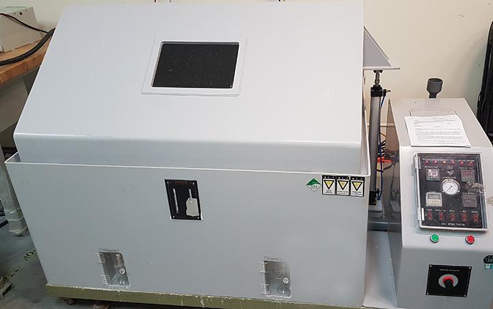 Certificazione Salt Spray LabTest