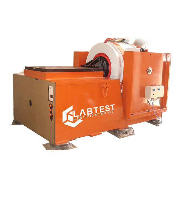 Pruebas de vibración LabTest
