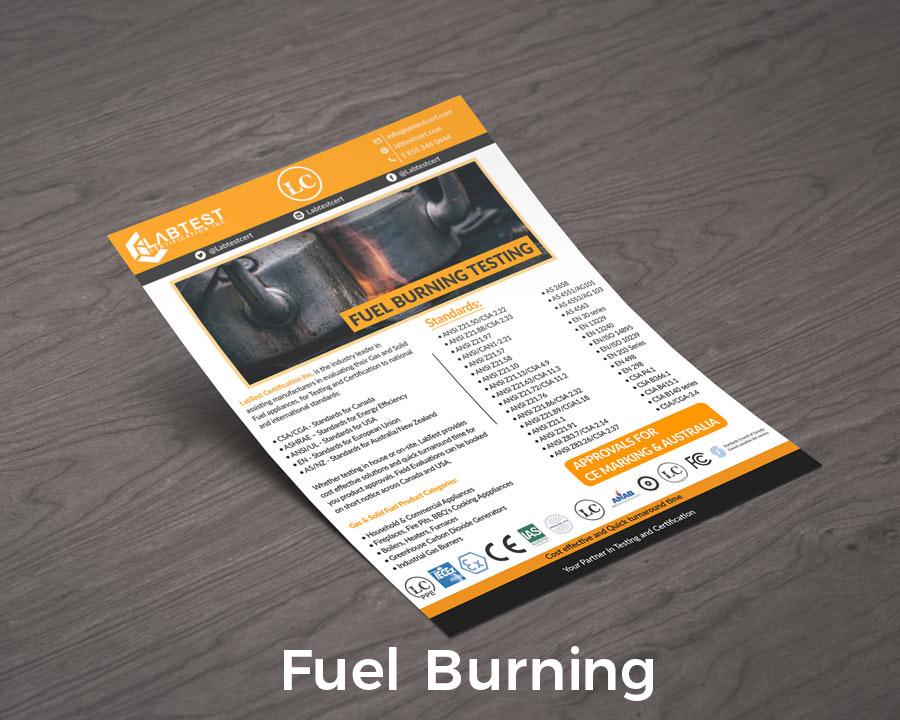 Projekt makiety spalania paliwa