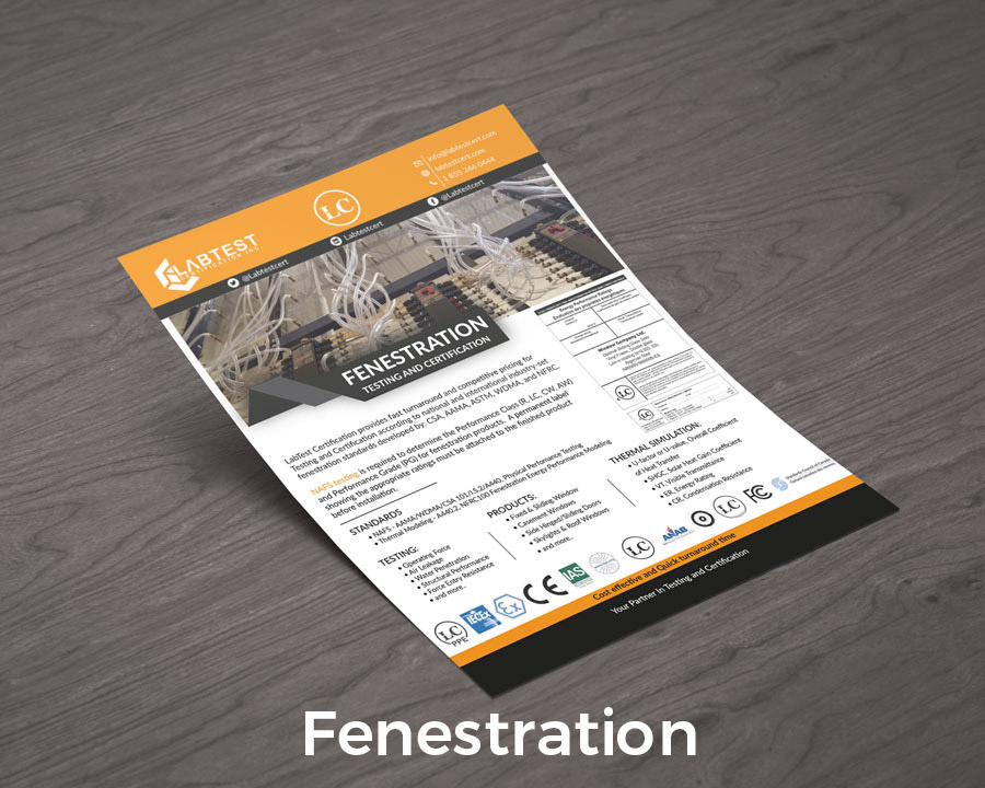 testowanie okiennic Projekt makiety dla broszur