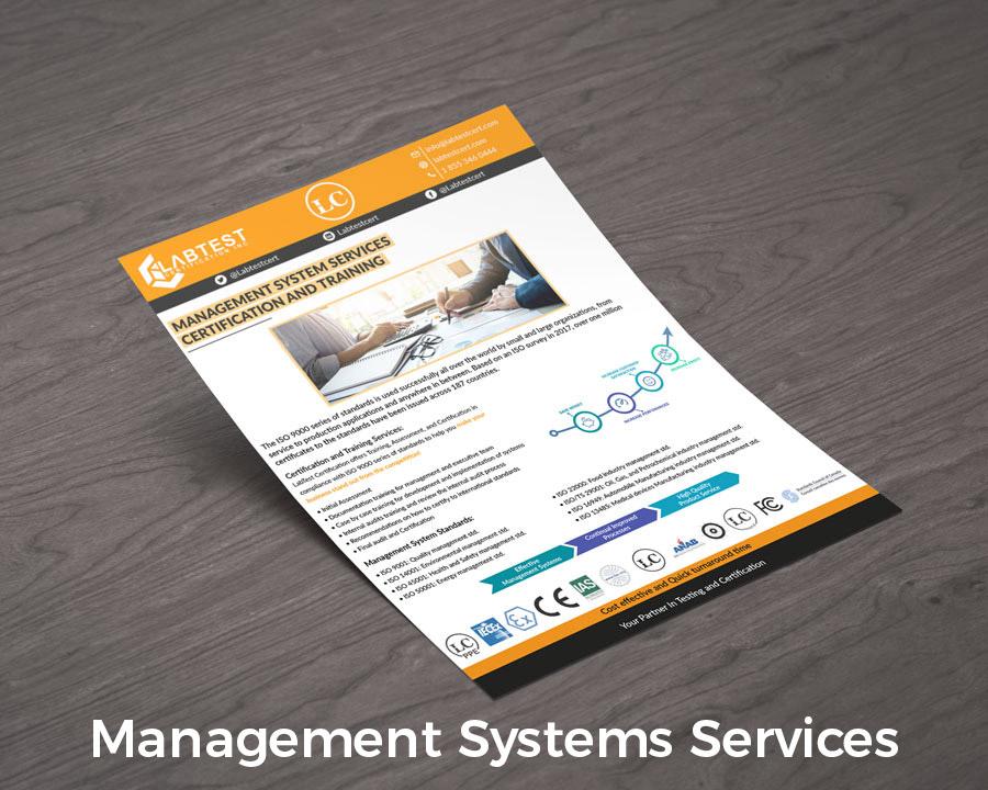 Diseño de maqueta de servicios del sistema de gestión